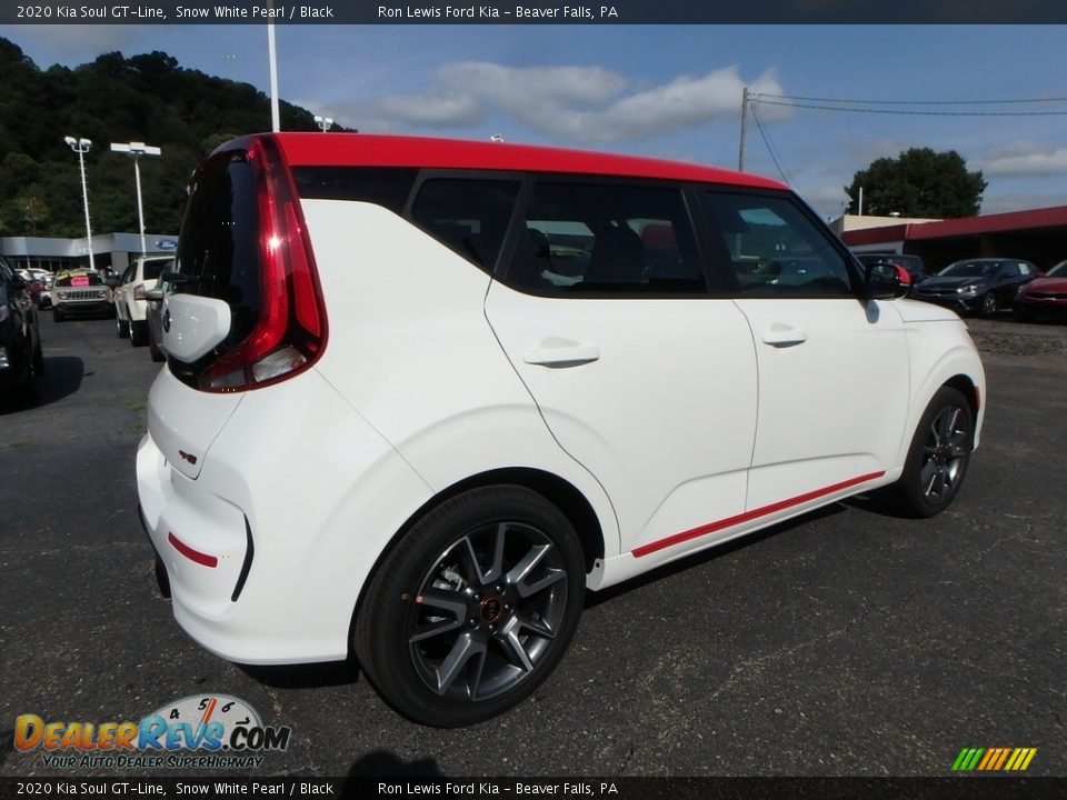 Snow White Pearl 2020 Kia Soul GT-Line Photo #2