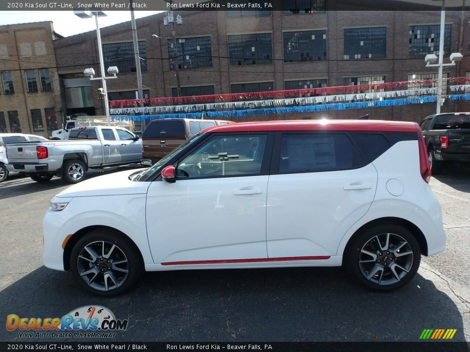 Snow White Pearl 2020 Kia Soul GT-Line Photo #6