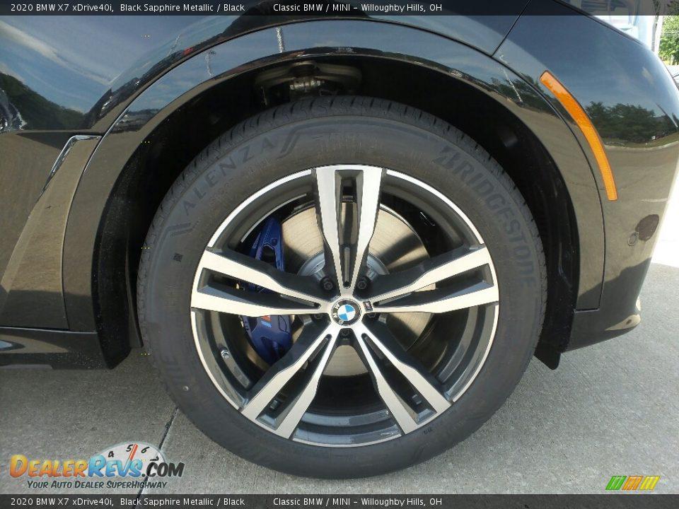 2020 BMW X7 xDrive40i Wheel Photo #2