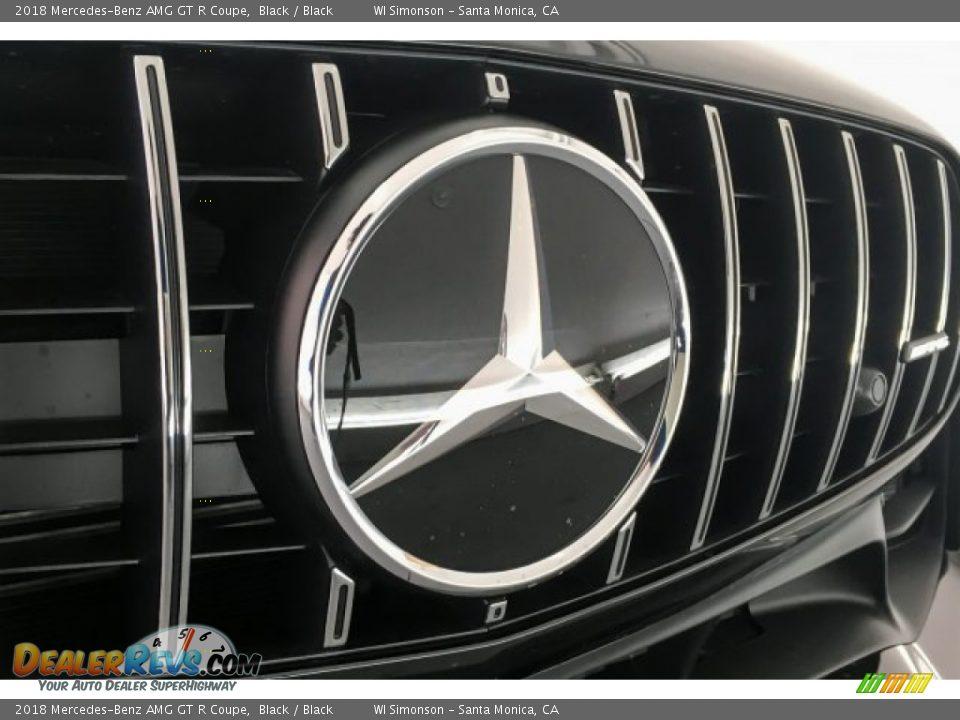 2018 Mercedes-Benz AMG GT R Coupe Black / Black Photo #33