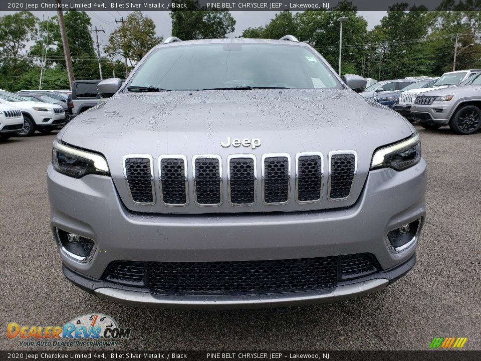 2020 Jeep Cherokee Limited 4x4 Billet Silver Metallic / Black Photo #2