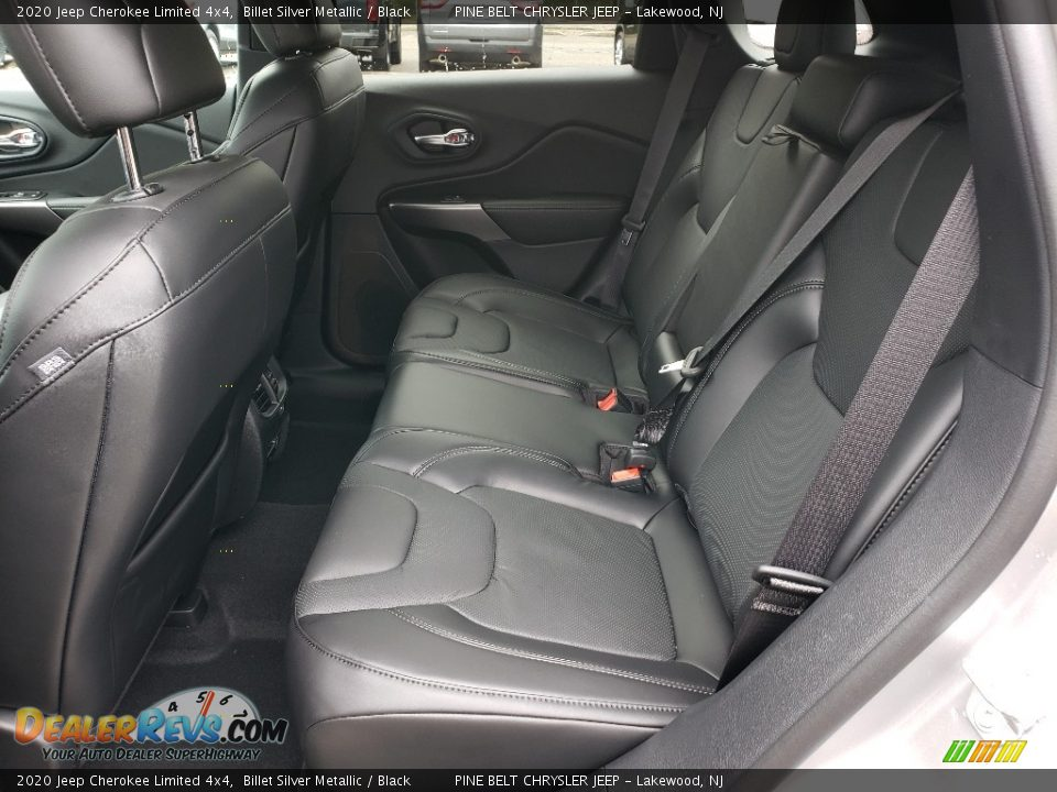 Rear Seat of 2020 Jeep Cherokee Limited 4x4 Photo #6