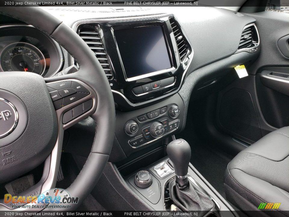 2020 Jeep Cherokee Limited 4x4 Billet Silver Metallic / Black Photo #10