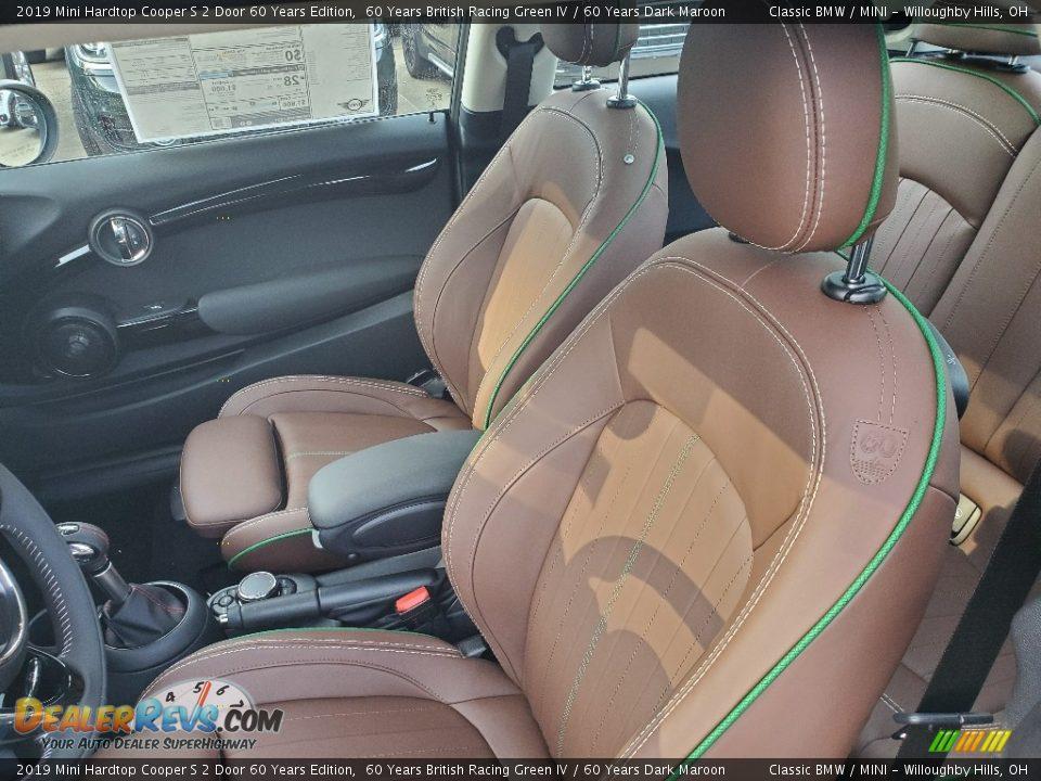 2019 Mini Hardtop Cooper S 2 Door 60 Years Edition 60 Years British Racing Green IV / 60 Years Dark Maroon Photo #8