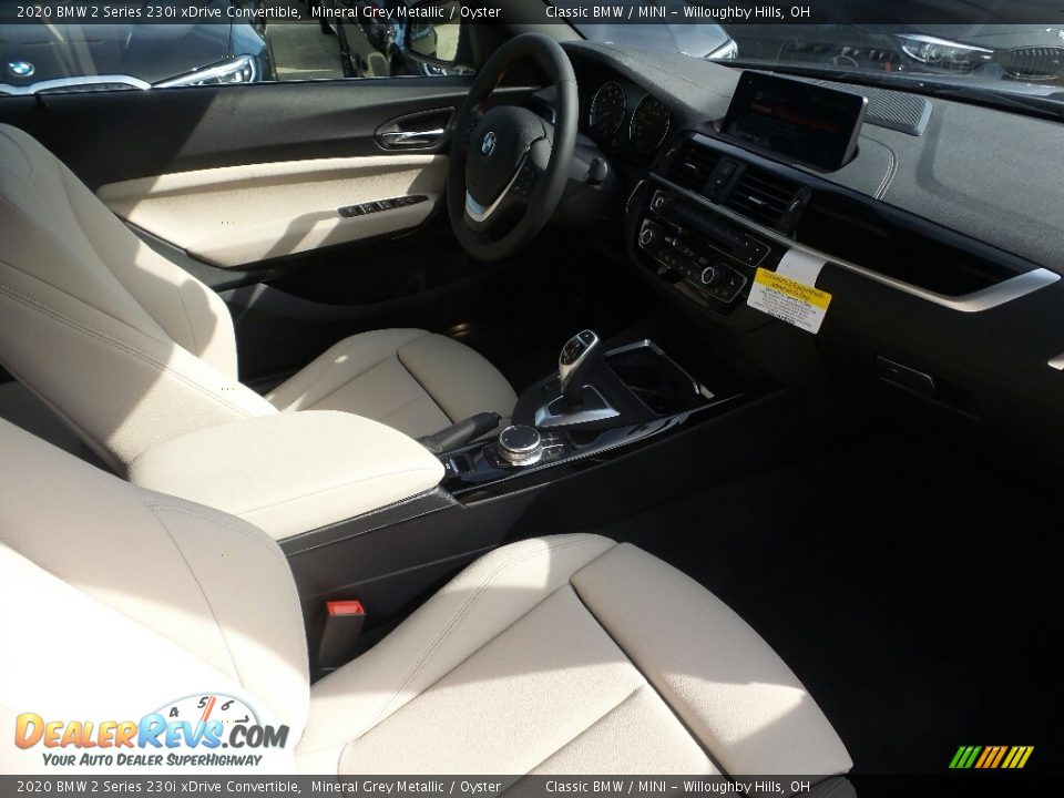 2020 BMW 2 Series 230i xDrive Convertible Mineral Grey Metallic / Oyster Photo #3