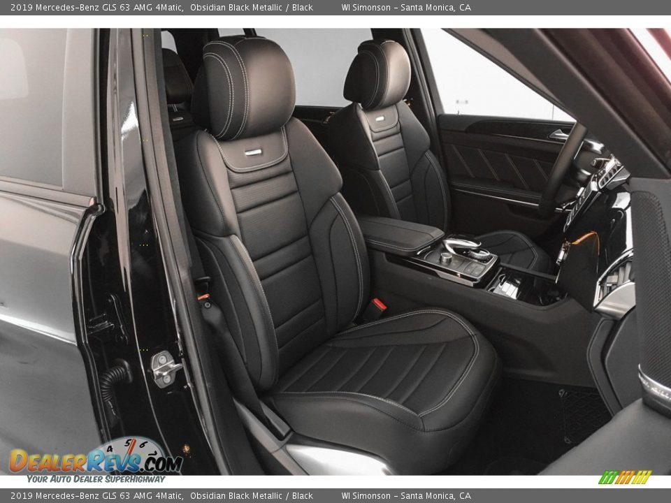 2019 Mercedes-Benz GLS 63 AMG 4Matic Obsidian Black Metallic / Black Photo #5