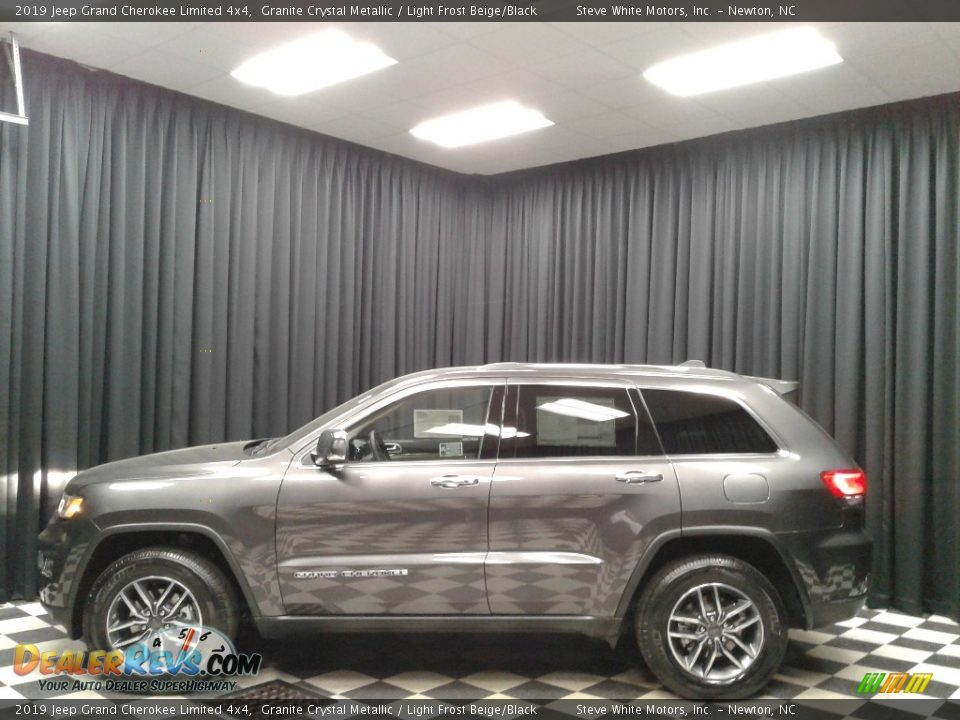 2019 Jeep Grand Cherokee Limited 4x4 Granite Crystal Metallic / Light Frost Beige/Black Photo #1