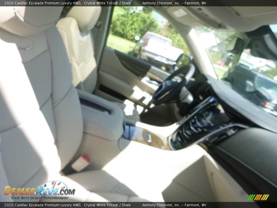 2020 Cadillac Escalade Premium Luxury 4WD Crystal White Tricoat / Shale Photo #10