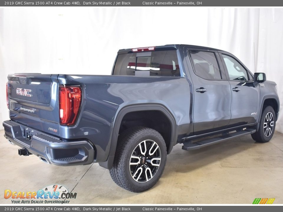 2019 GMC Sierra 1500 AT4 Crew Cab 4WD Dark Sky Metallic / Jet Black Photo #2