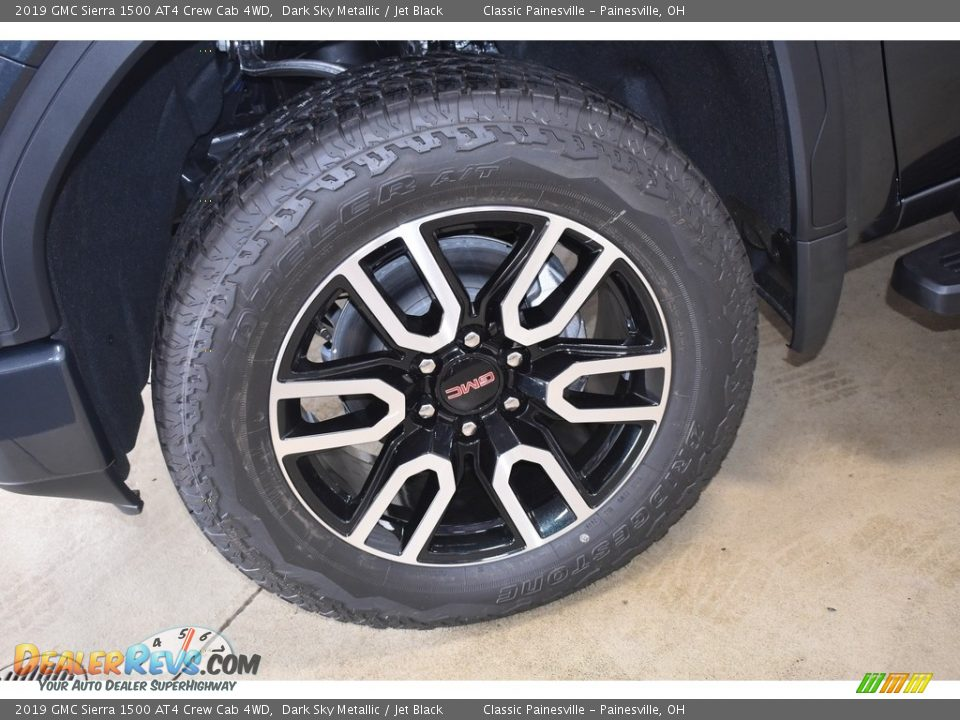 2019 GMC Sierra 1500 AT4 Crew Cab 4WD Wheel Photo #5