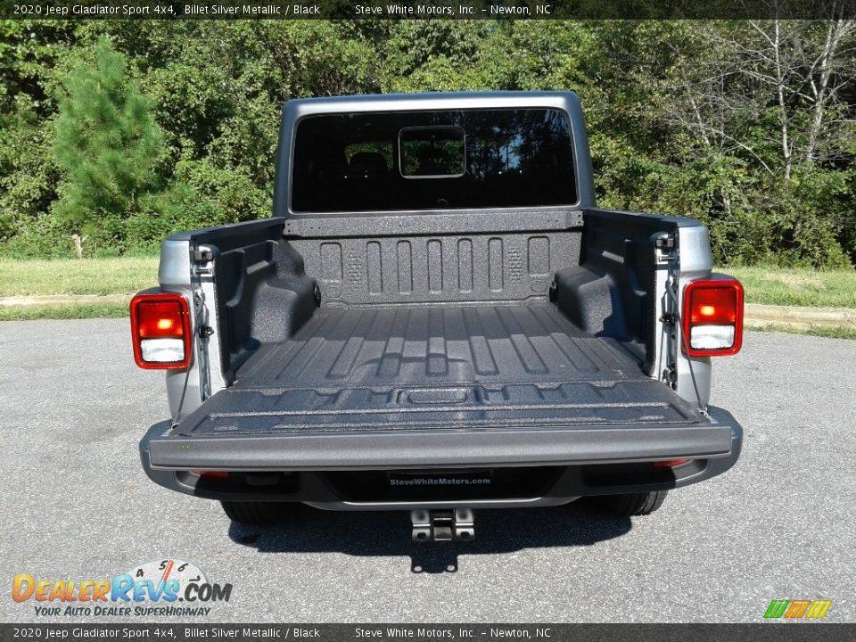 2020 Jeep Gladiator Sport 4x4 Billet Silver Metallic / Black Photo #12