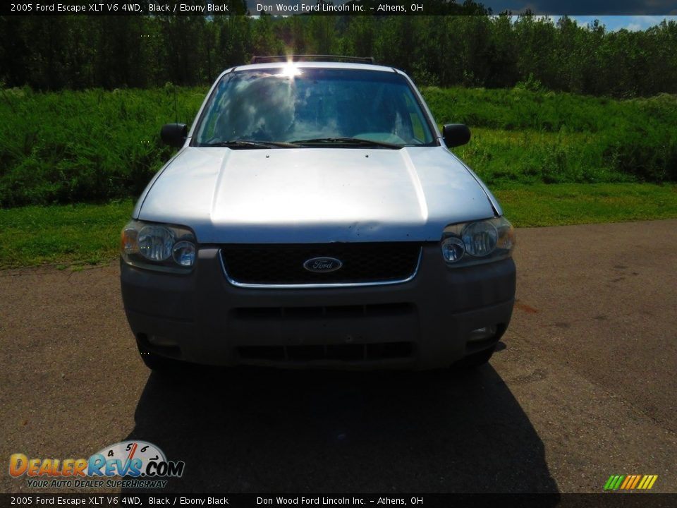 2005 Ford Escape XLT V6 4WD Black / Ebony Black Photo #3