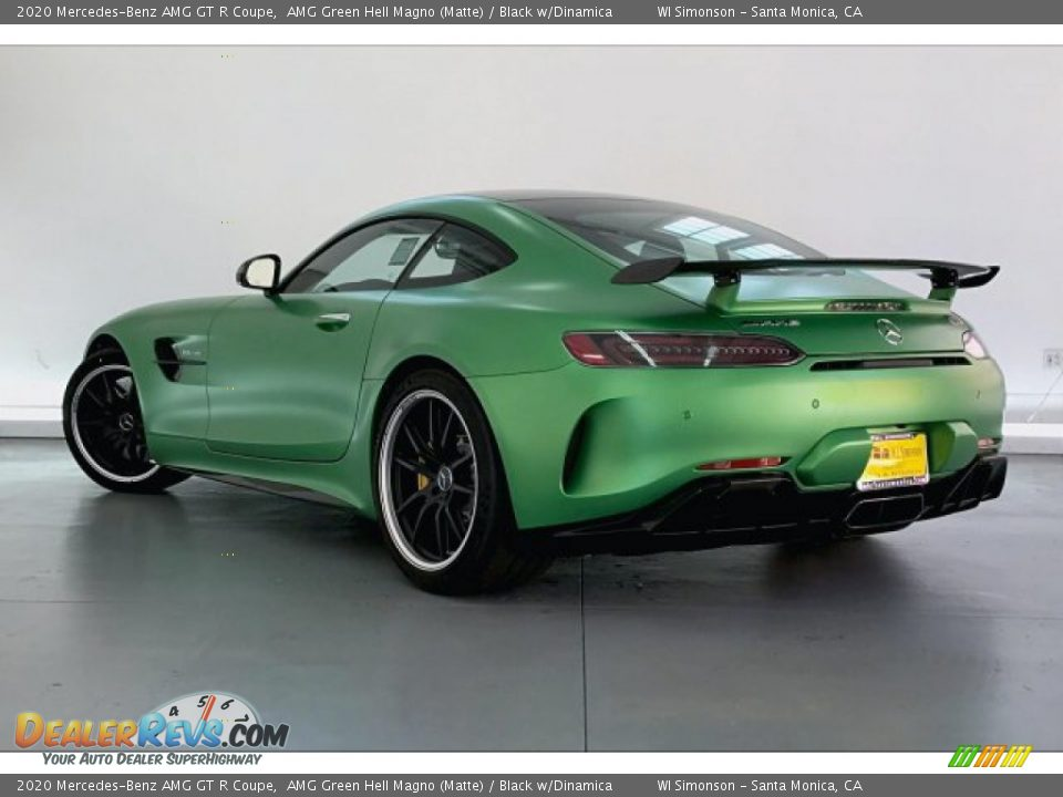 AMG Green Hell Magno (Matte) 2020 Mercedes-Benz AMG GT R Coupe Photo #2