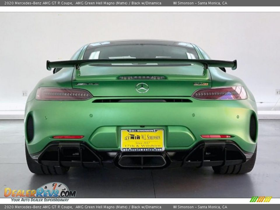 2020 Mercedes-Benz AMG GT R Coupe AMG Green Hell Magno (Matte) / Black w/Dinamica Photo #3