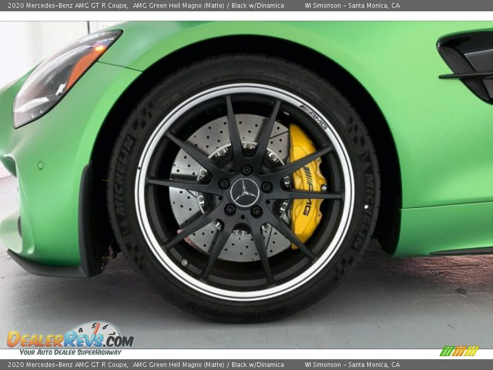 2020 Mercedes-Benz AMG GT R Coupe Wheel Photo #9