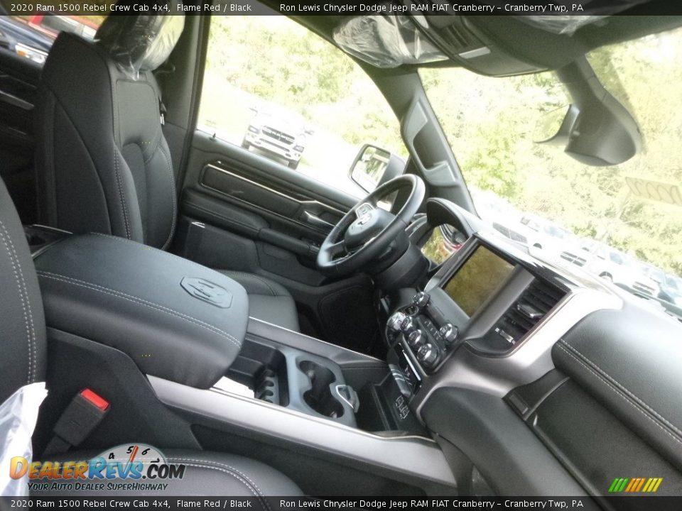 Front Seat of 2020 Ram 1500 Rebel Crew Cab 4x4 Photo #10
