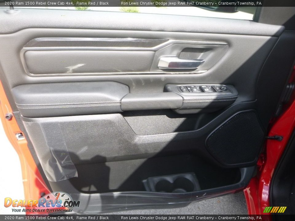 Door Panel of 2020 Ram 1500 Rebel Crew Cab 4x4 Photo #14