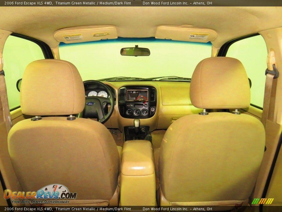 2006 Ford Escape XLS 4WD Titanium Green Metallic / Medium/Dark Flint Photo #13