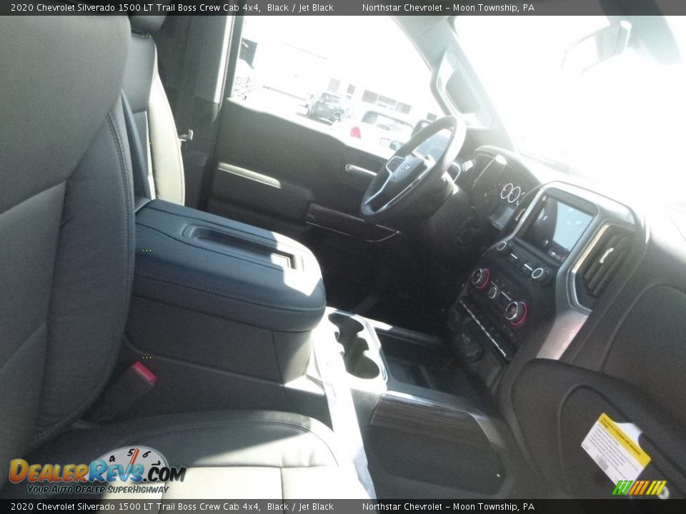 2020 Chevrolet Silverado 1500 LT Trail Boss Crew Cab 4x4 Black / Jet Black Photo #9