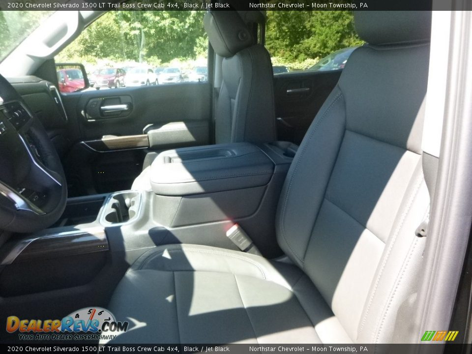 Front Seat of 2020 Chevrolet Silverado 1500 LT Trail Boss Crew Cab 4x4 Photo #13