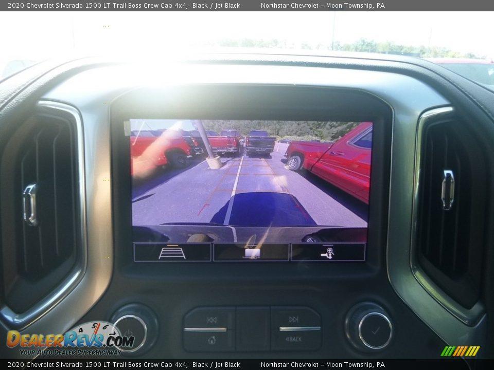 2020 Chevrolet Silverado 1500 LT Trail Boss Crew Cab 4x4 Black / Jet Black Photo #17