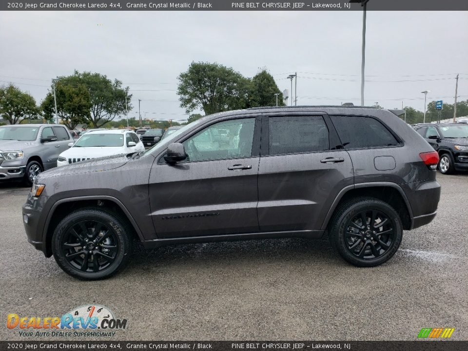 2020 Jeep Grand Cherokee Laredo 4x4 Granite Crystal Metallic / Black Photo #3