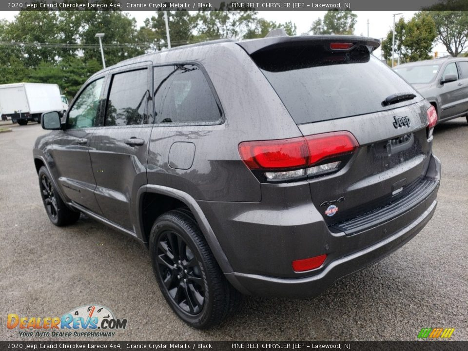 2020 Jeep Grand Cherokee Laredo 4x4 Granite Crystal Metallic / Black Photo #4