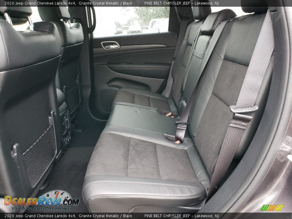 2020 Jeep Grand Cherokee Laredo 4x4 Granite Crystal Metallic / Black Photo #6