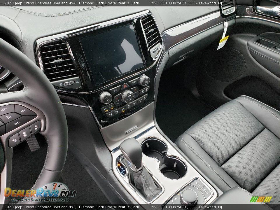 2020 Jeep Grand Cherokee Overland 4x4 Diamond Black Crystal Pearl / Black Photo #10