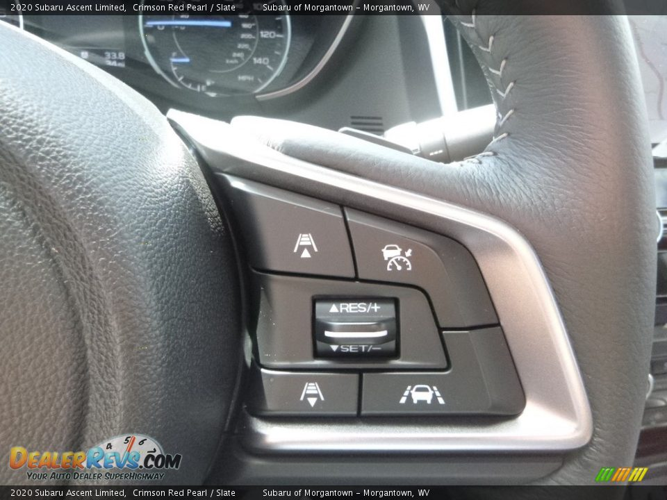 2020 Subaru Ascent Limited Steering Wheel Photo #19