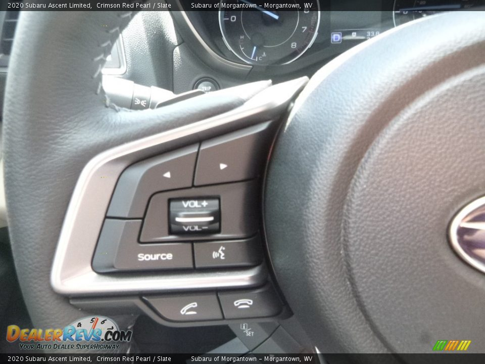 2020 Subaru Ascent Limited Steering Wheel Photo #20