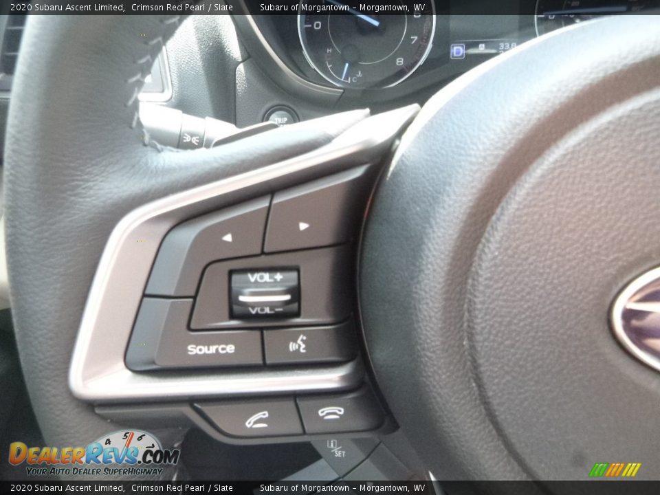 2020 Subaru Ascent Limited Steering Wheel Photo #20