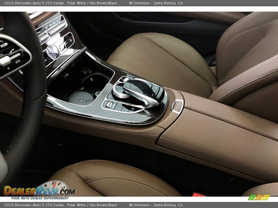 2020 Mercedes-Benz E 350 Sedan Polar White / Nut Brown/Black Photo #7