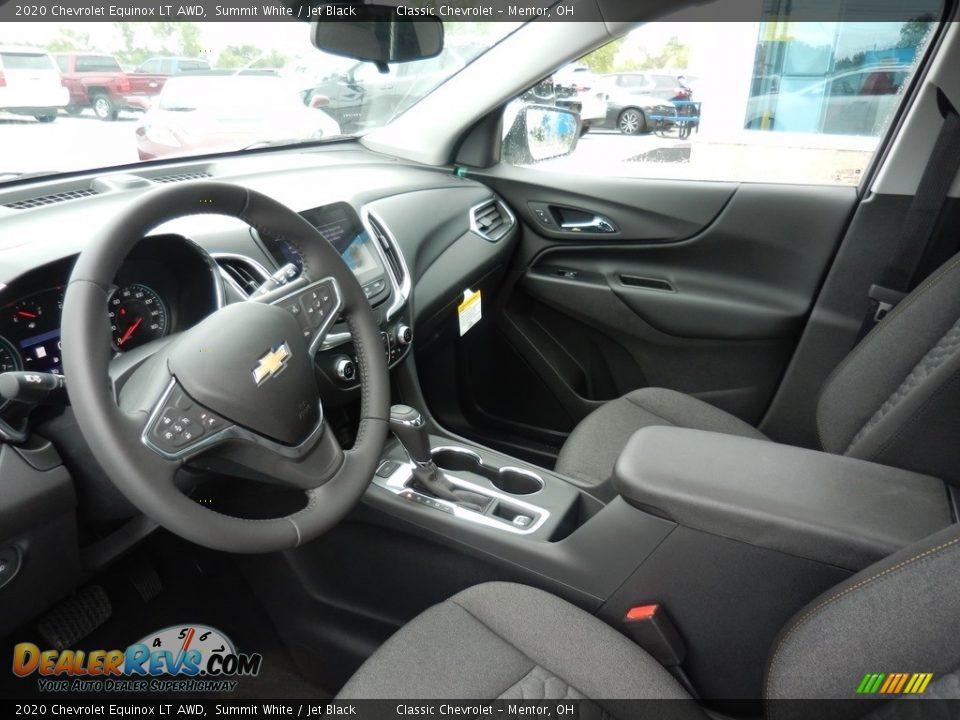 2020 Chevrolet Equinox LT AWD Summit White / Jet Black Photo #6