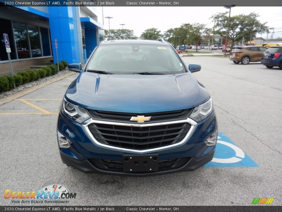 2020 Chevrolet Equinox LT AWD Pacific Blue Metallic / Jet Black Photo #2