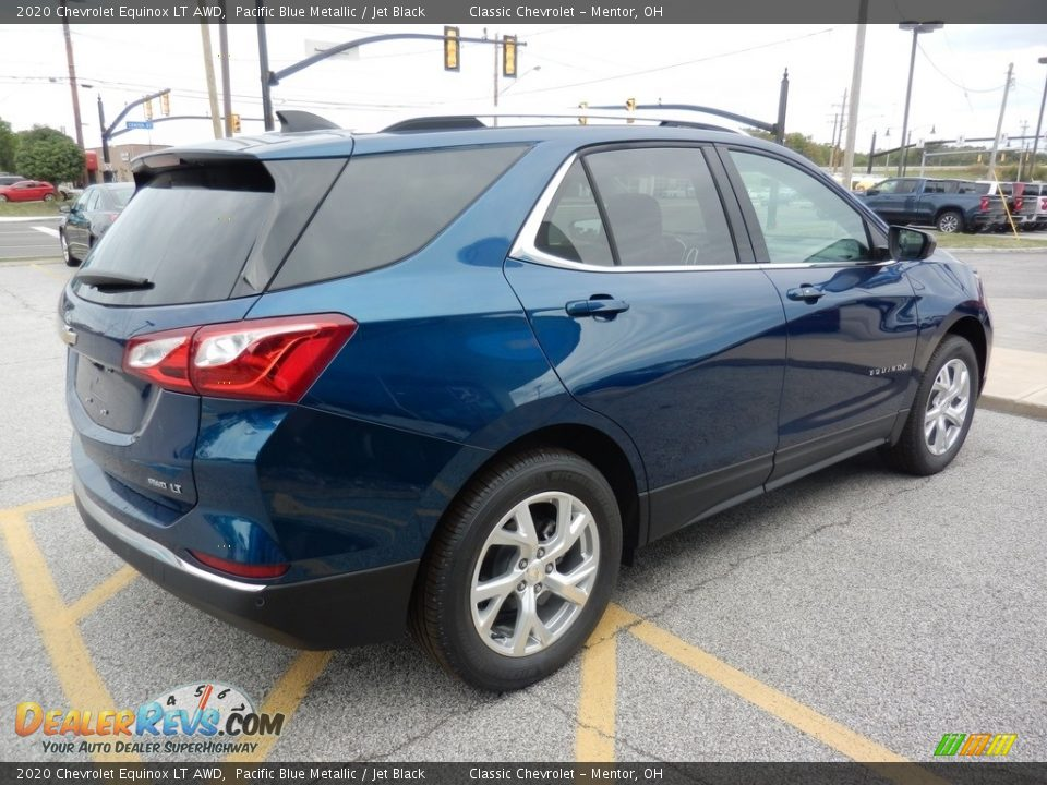 2020 Chevrolet Equinox LT AWD Pacific Blue Metallic / Jet Black Photo #4