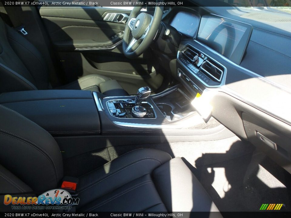 2020 BMW X7 xDrive40i Arctic Grey Metallic / Black Photo #3