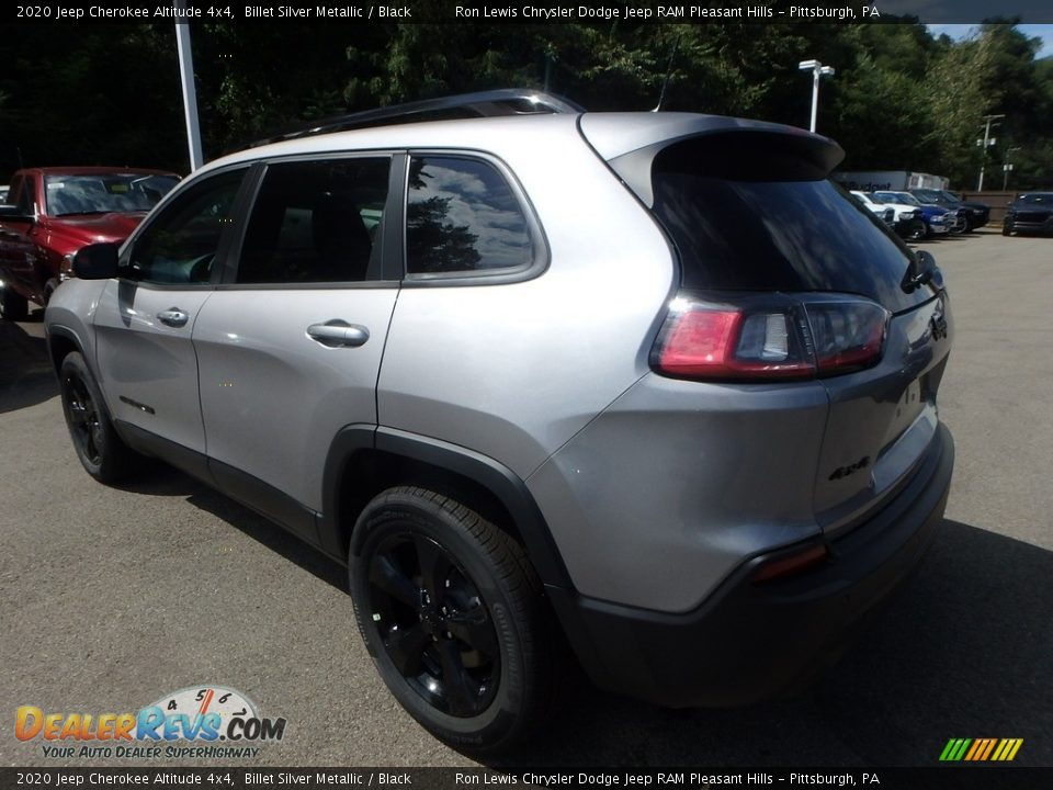 2020 Jeep Cherokee Altitude 4x4 Billet Silver Metallic / Black Photo #3