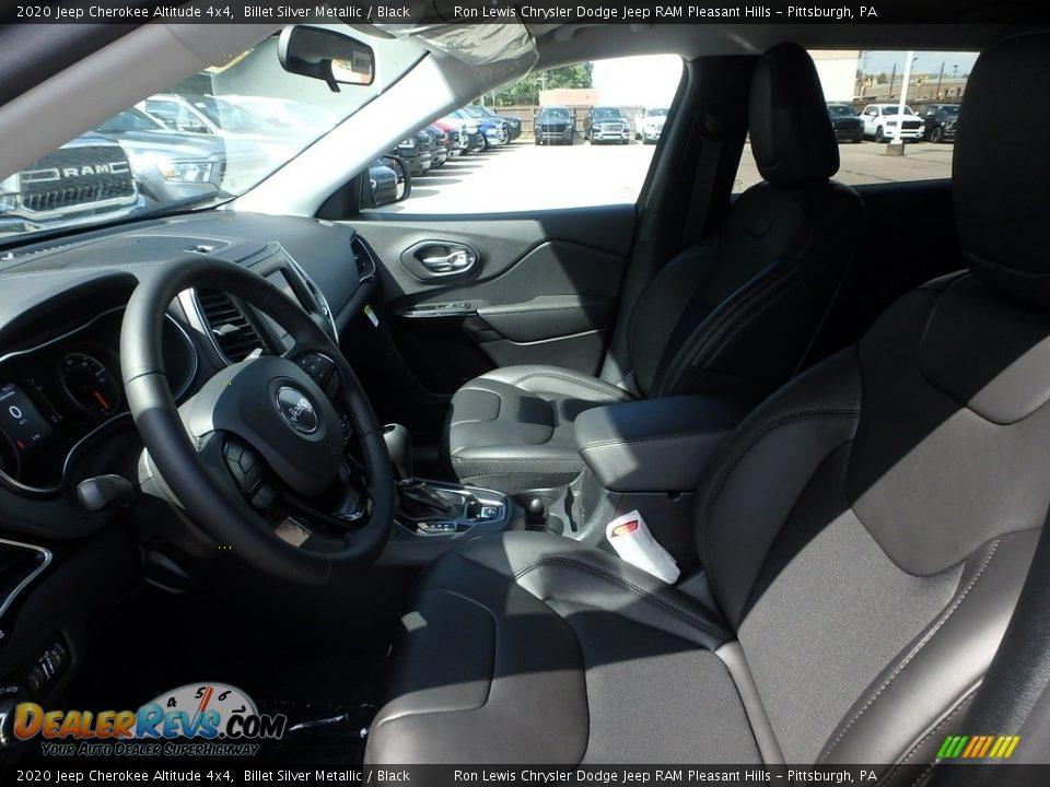 2020 Jeep Cherokee Altitude 4x4 Billet Silver Metallic / Black Photo #11