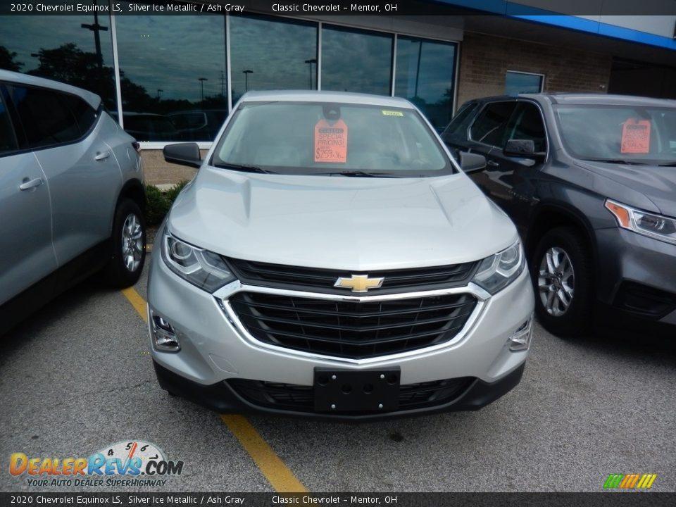 2020 Chevrolet Equinox LS Silver Ice Metallic / Ash Gray Photo #2