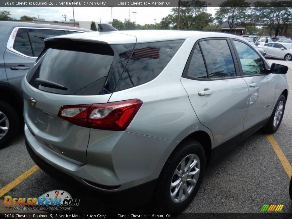 2020 Chevrolet Equinox LS Silver Ice Metallic / Ash Gray Photo #4