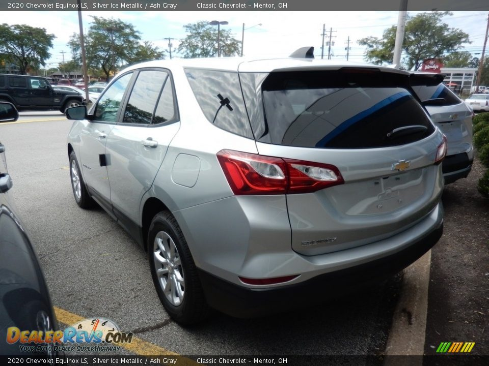 2020 Chevrolet Equinox LS Silver Ice Metallic / Ash Gray Photo #5
