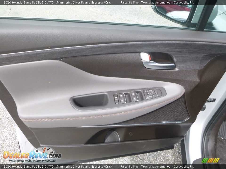 Door Panel of 2020 Hyundai Santa Fe SEL 2.0 AWD Photo #11