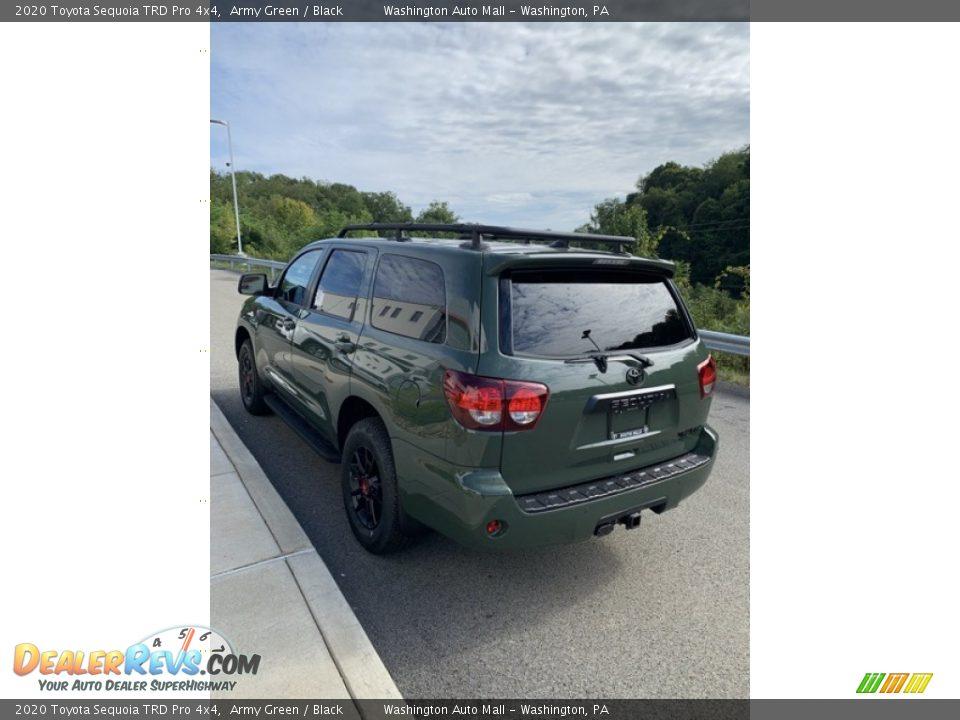 2020 Toyota Sequoia TRD Pro 4x4 Army Green / Black Photo #5