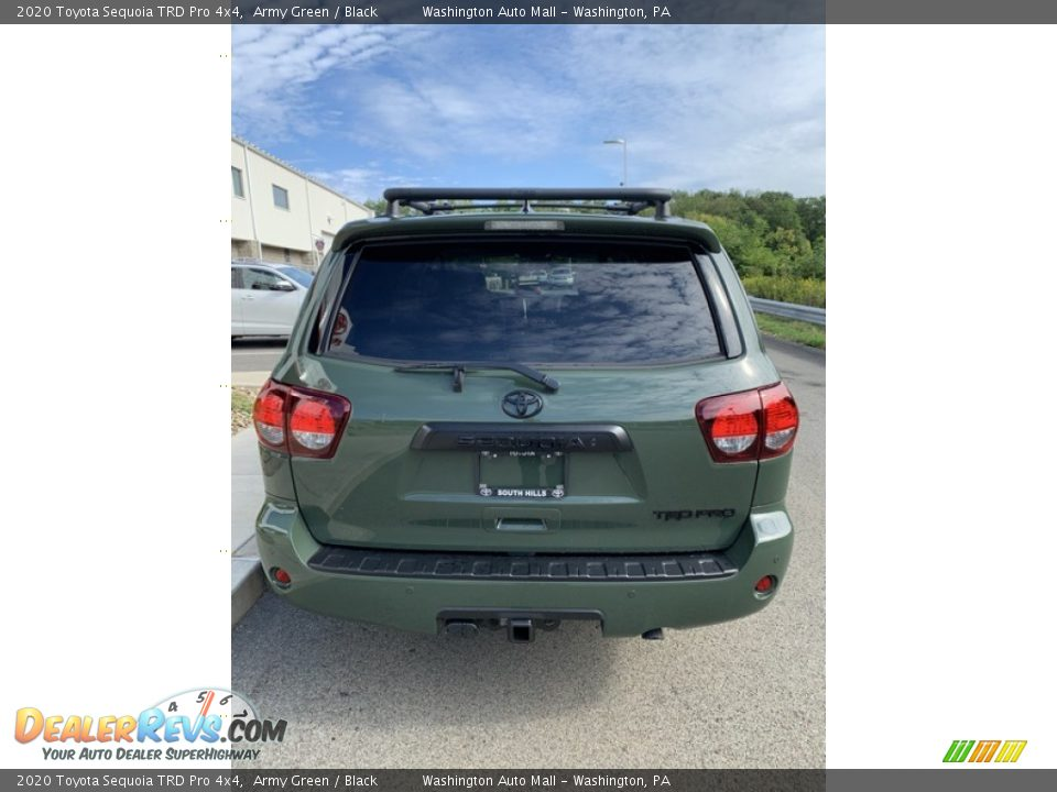 2020 Toyota Sequoia TRD Pro 4x4 Army Green / Black Photo #6