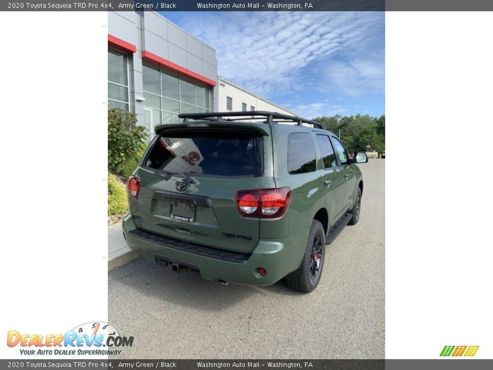 2020 Toyota Sequoia TRD Pro 4x4 Army Green / Black Photo #7