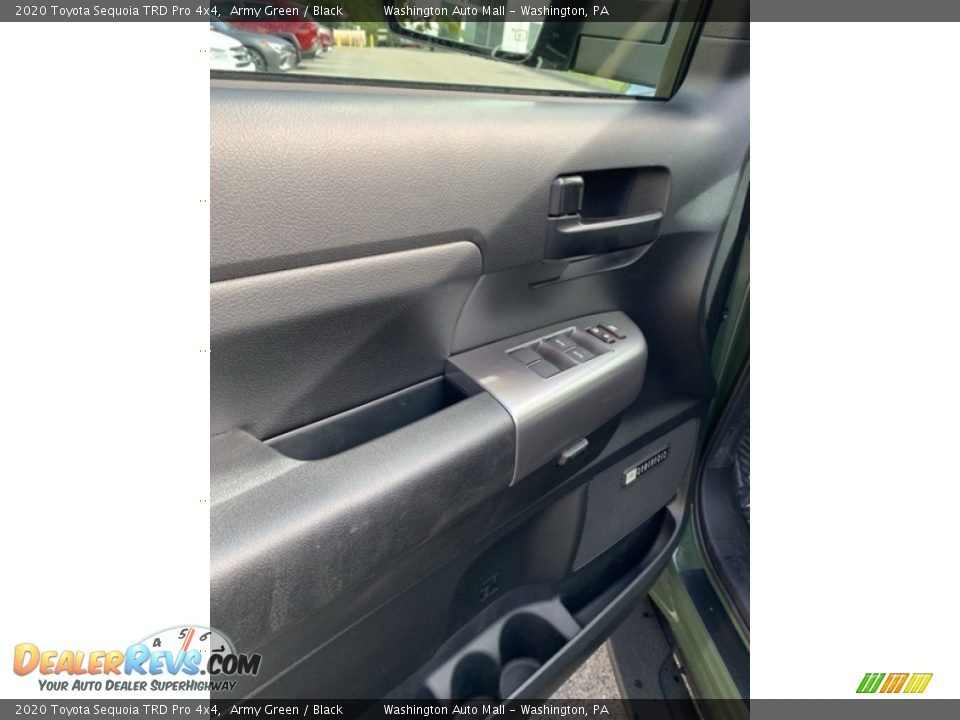 Door Panel of 2020 Toyota Sequoia TRD Pro 4x4 Photo #10