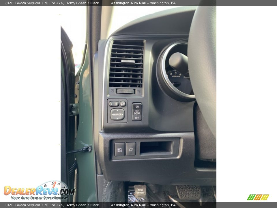 Controls of 2020 Toyota Sequoia TRD Pro 4x4 Photo #12