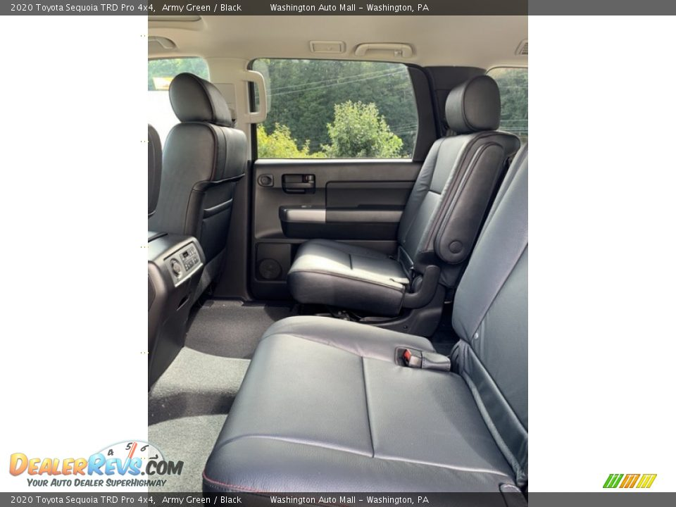 Rear Seat of 2020 Toyota Sequoia TRD Pro 4x4 Photo #20