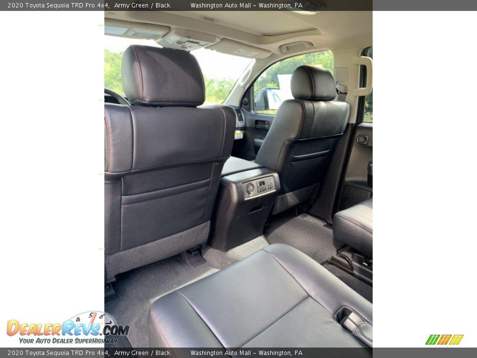 Rear Seat of 2020 Toyota Sequoia TRD Pro 4x4 Photo #21